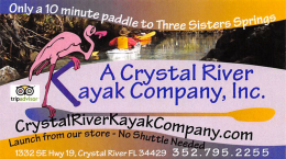 A Crystal River Kayak Co